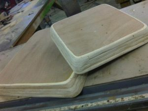 small canvas stretchers for artist Otis Jones